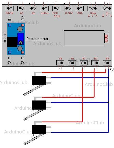 Anschluss von 2 Sensoren pro Eingang