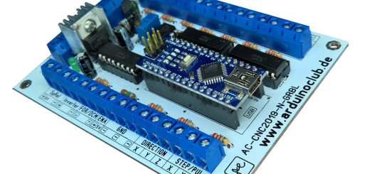 ArduinoClub Arduino Nano GRBL CNC Controller