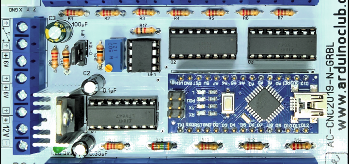 ArduinoClub Arduino Nano GRBL 1.1 CNC Controlle