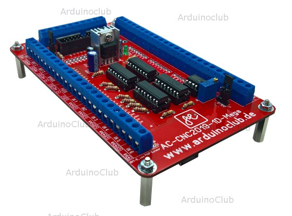 ESTLCAM Arduino Mega Steuerung