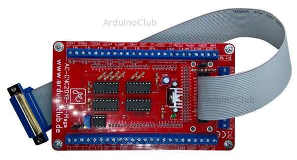 Arduino Mega Steuerung mit Handradanschluss